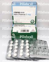 Xanax Alprazolam 2mg Kern Pharma delivery from UK x 100